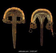 Two Massim Ceremonial Spatulas, Louisiade Islands, Papua New Guinea