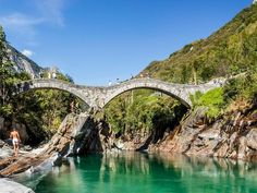 Wild swimming around Switzerland is a must-do quintessential summer experience. Find the best rivers in Switzerland safe for swimming here! The River, Bergen, Switzerland Summer, Plan Your Trip, Travel Inspiration, Bridge, Places To Visit, Europe, Swimming