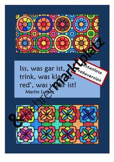 Fächerübergreifende Materialsammlung zu Martin Luther und Reformation - Probeversion