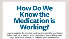 Learn to recognize the signs that your treatment plan is (or is not) doing its job — and how to solve common medication problems. Plus, use our easy-to-use medication log to track your symptoms ove… Medication Log, Common Medications, Adhd Odd, Adhd Signs, Doctor For Kids, Adhd Help, Adhd Brain, Adhd Strategies, Adhd