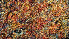 Carnival- Original Contemporary Abstract Art Canvas Painting 69x122 by Oleg Aryaev