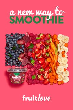 Leave your blenders at home and meet Fruitlove! Our Harvest Berry Blend Spoonable Smoothie is packed with real fruits & veggies for on the go snacking Find us in the yogurt aisle! is part of Smoothie recipes - Fruit Salad Recipes, Sangria Recipes, Chicken Salad Recipes, Pork Recipes, Smoothie Recipes, Crockpot Recipes, Fruit Snacks, Veggie Recipes, High Fiber Fruits