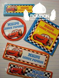 #Personalized #Label #Sticker ¡Everybody ready! #Cars https://www.facebook.com/invitaciones.bombon