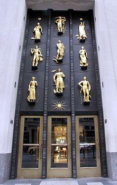Rockefeller Center, 5th Ave