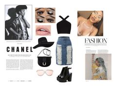 """""""Formation"""" by quilalala ❤ liked on Polyvore featuring BCBGMAXAZRIA, LE3NO, ASOS, A.P.C. and San Diego Hat Co."""