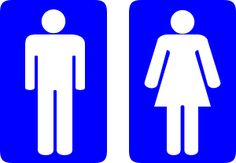 28 Best Male and Female bathroom signs images in 2016 | Bath