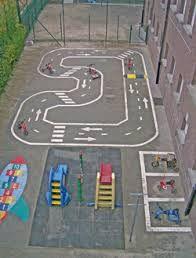 speelplaats kleuters - Google zoeken Playground Painting, Playground Flooring, Backyard Playground, Outdoor Fun For Kids, Outdoor School, Outdoor Play, School Games, School Fun, Outdoor Learning Spaces