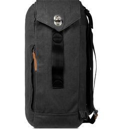 Washed Black Backpack