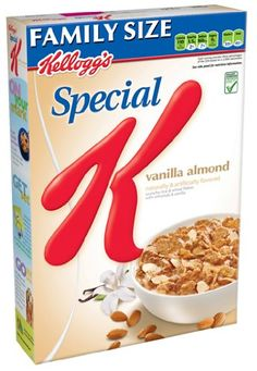 Special K Cereal, Vanilla Almond, 17.5-Ounce Packages #GotItFree #YourJourneyYourWay