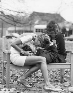 Kissing my love