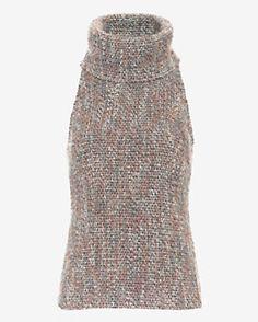 Exclusive for Intermix Mira Tweed Knit Turtleneck
