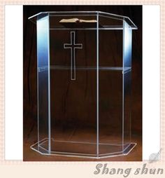 Free Shipping modern acrylic podium, acrylic pulpit, pulpit clear night bar table, podium plexiglass lectern