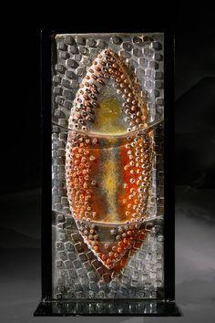 Vector,  2014 Jeremy Popelka Sand Cast Glass