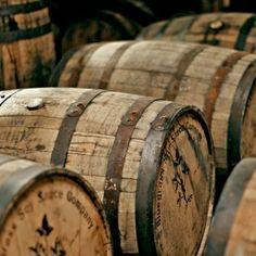 Full Size Bourbon Barrels