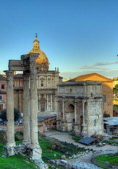 Foro Romano, Rome, province of Rome Lazio region Italy