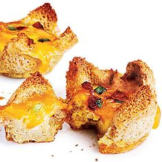 Mini Bacon and Egg Tarts ($1.58/Serving) (Cooking Light Jan/Feb 2012)