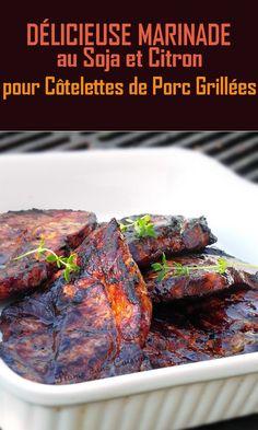 Marinade Porc, Vinaigrette, Steak, Bbq, Barbecues, Voici, Cooking, Menu, Food