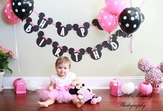 Minnie Mouse Clubhouse Inspired Pink and White by LilTutuDivas, $26.50