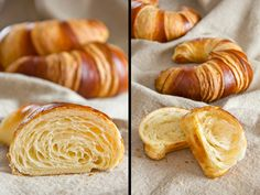 Reader's request: Franconian croissants (Bamberg croissants - Brot Rezepte und alles was dazugehört - Croissant Ideen German Bread, German Baking, Braided Bread, Bread Bun, Baking Recipes, Bread Recipes, Brioche Recipe, Tasty Bread Recipe, Sweet Pastries