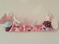 #dolcezza #cupcakes #butterfly #pearls #feltro #pannolenci #favoledifilo #handmade #passione #felt #pezziunici #personalized #banner #nameletters #nome #babyroomdecor #idearegalo #babygirls #art #artist #artigianato #artigianatoitaliano #madeinitaly #followme