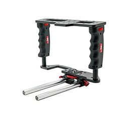 PNC DSLR Camera GearBox GB2 Video Accessory Cage comes W 15mm Rod >>> Be sure to check out this awesome product.