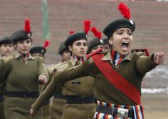 republic day parade : hello people of india welcome and i need to give some inspiration to you.today you are readng here Indian best parade january by ncc India Republic Day Parade, Indian Army Quotes, Headlines Today, Army Women, India People, Female Soldier, Army & Navy, First Girl, Girls Dream
