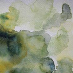 """Koen Lybaert; Watercolor 2013 Painting """"ambient N°0099"""""""