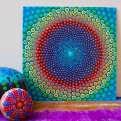 The power of pattern and color........Sacred Geometry☯
