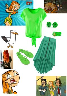 """""""izzy from total drama island"""" by kaitlin-andujar ❤ liked on Polyvore Island Outfit, Total Drama Island, Movie Outfits, Casual Cosplay, Disney Bound, Modern Outfits, Sweet Style, Best Tv Shows, Inspired Outfits"""