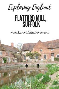 We discovered Flatford Mill in Suffolk, after making plans to explore more of our own country, England. We travel far and wide yet neglect the beauty here The Beautiful Country, Beautiful Places, Suffolk England, Norwich Norfolk, Uk Destinations, Great Yarmouth, Interesting Buildings, Travel England, Places Of Interest