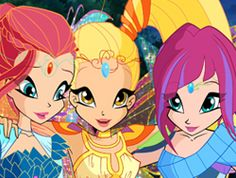 Tecna stella and bloom bloomix season 6 | Winx Club