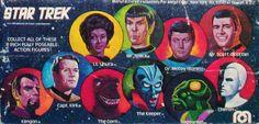Star Trek Mego action figs.