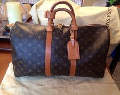 Louis Vuitton Keepall 45 Brown Travel Bag $803