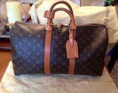 Louis Vuitton Keepall 45 Brown Travel Bag $803