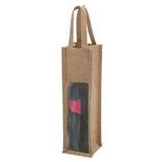 Bolsa Ecológica Porta-Botella Yute