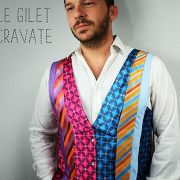 Le gilet cravate par Modèles Uniques - thread&needles
