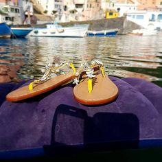 Grazie a Michele Schiano La dolce vita a #procida  #handmade #sandals
