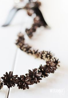 DIY Cone garland { By Werannas blog }