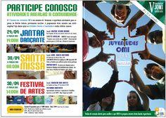 Cartaz para divulgação local das atividades abertas à Comunidade