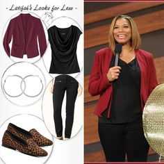 Latifah's Looks for Less: Tuesday, February 11th