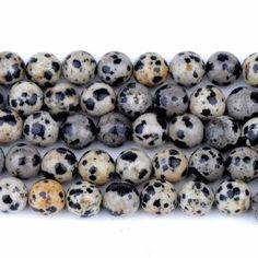 30pc 8mm jasper natural white Beads bracelet natural stone