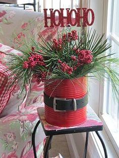 Décorations de Noël DIY (si vous êtes un peu dernière minute) | Eille la cheap!