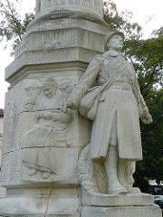 Dax, Landes: monument aux morts (Ernest Gabard)