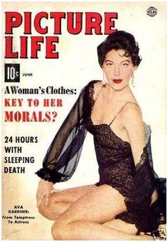 Ava Gardner - Picture Life - June 1954