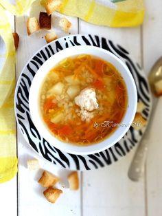 Детский рыбный суп с гречкой. Рецепты детского меню в кулинарном блоге Татьяны М.