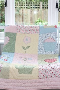tea time cot bed quilt by babyface | notonthehighstreet.com
