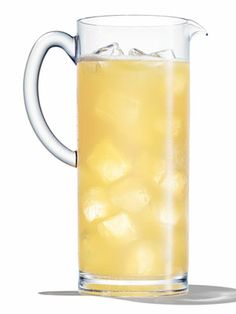 Colada Fresca (2 oz. Rum 4 oz. coconut water 1/2 oz. pineapple juice Pineapple wedge and cherry, for garnish)