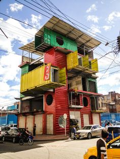 Container Building Criollo by ((( o ))), via Flickr