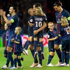 Zlatan in Paris