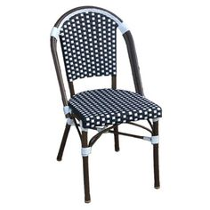 Table in a Bag CBC Café Bistro All-Weather Wicker Stackable Chair